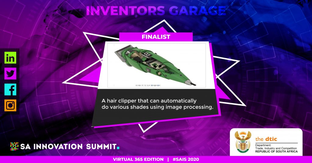 AUTOMATIC STYLING HAIR CLIPPER